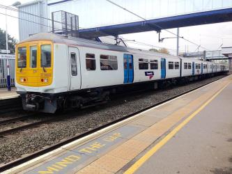 Thameslink train